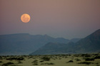 Vollmond in der Namib